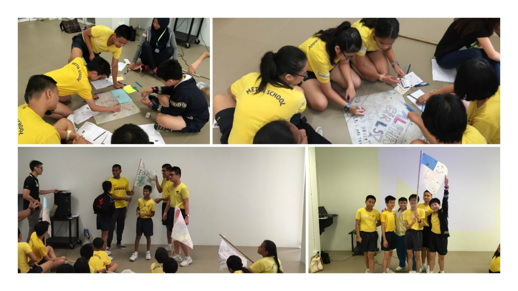 Prefects Day Camp Collage